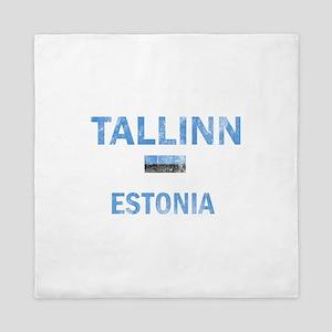 Tallinn Estonia Designs Queen Duvet