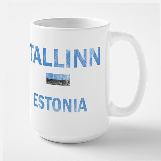 Tallinn Estonia Designs Large Mug