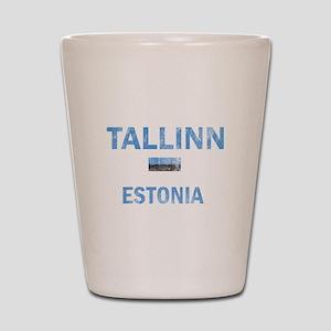 Tallinn Estonia Designs Shot Glass
