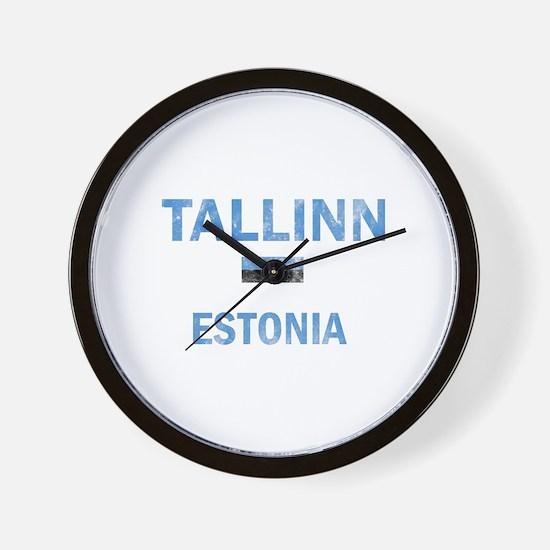 Tallinn Estonia Designs Wall Clock