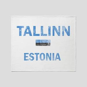 Tallinn Estonia Designs Throw Blanket