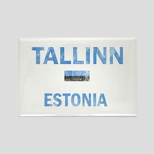 Tallinn Estonia Designs Rectangle Magnet