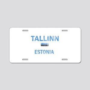 Tallinn Estonia Designs Aluminum License Plate