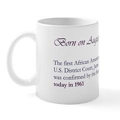 Mug: First African American judge of a U.S. Distri