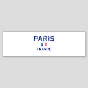 Paris France Designs Sticker (Bumper)