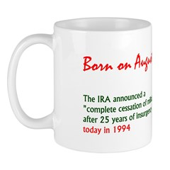 Mug: IRA announced a 'complete cessation of milita