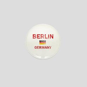 Berlin Germany Designs Mini Button