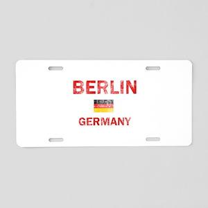 Berlin Germany Designs Aluminum License Plate