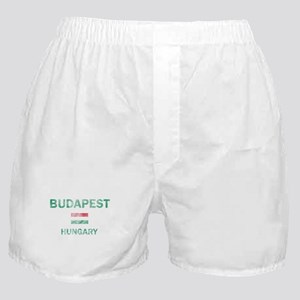 Budapest Hungary Designs Boxer Shorts