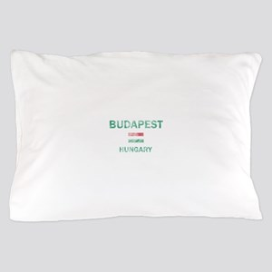 Budapest Hungary Designs Pillow Case