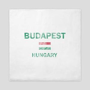 Budapest Hungary Designs Queen Duvet