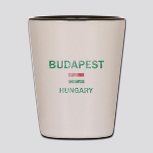 Budapest Hungary Designs Shot Glass