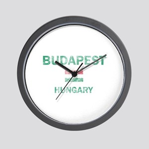 Budapest Hungary Designs Wall Clock