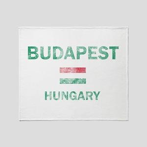Budapest Hungary Designs Throw Blanket