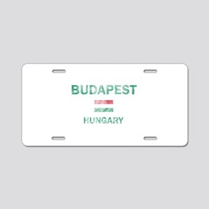 Budapest Hungary Designs Aluminum License Plate