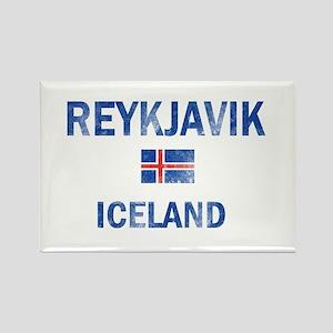 Reykjavik Iceland Designs Rectangle Magnet