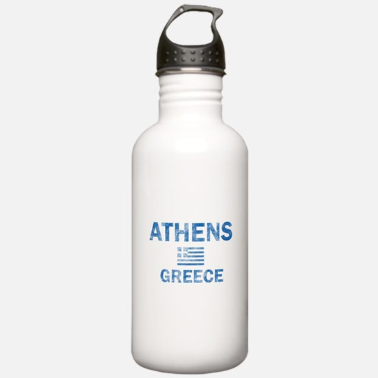 Athens Greece Designs Sports Water Bottle