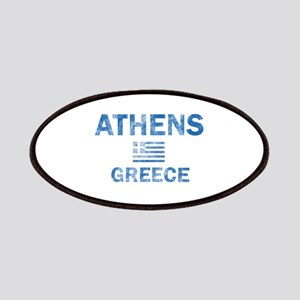 Athens Greece Designs Patches