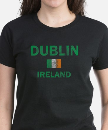 Dublin Ireland Designs Women's Dark T-Shirt