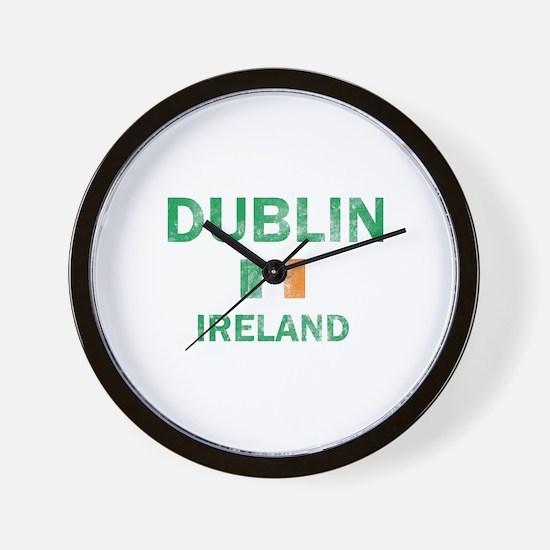 Dublin Ireland Designs Wall Clock