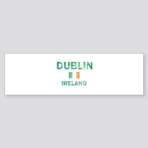 Dublin Ireland Designs Sticker (Bumper)