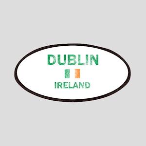 Dublin Ireland Designs Patches