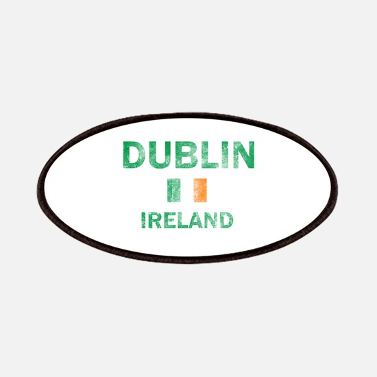 Dublin Ireland Designs Patches