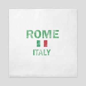 Rome Italy Designs Queen Duvet