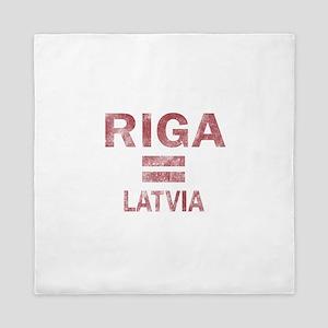 Riga Latvia Designs Queen Duvet