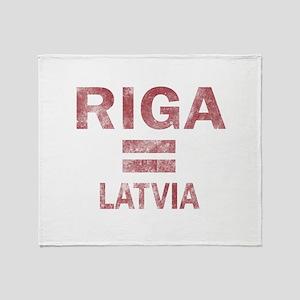 Riga Latvia Designs Throw Blanket