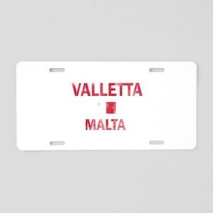 Valletta Malta Designs Aluminum License Plate