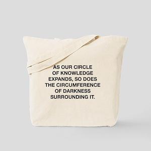 Circle Of Knowledge Tote Bag