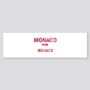 Monaco Monaco Designs Sticker (Bumper)