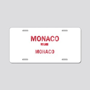 Monaco Monaco Designs Aluminum License Plate