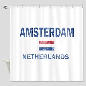 Amsterdam Netherlands Designs Shower Curtain