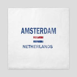 Amsterdam Netherlands Designs Queen Duvet