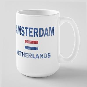 Amsterdam Netherlands Designs Large Mug