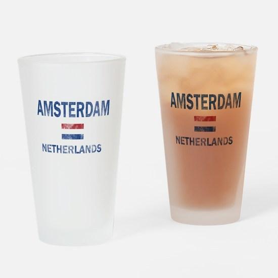 Amsterdam Netherlands Designs Drinking Glass