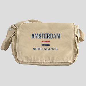 Amsterdam Netherlands Designs Messenger Bag