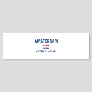 Amsterdam Netherlands Designs Sticker (Bumper)