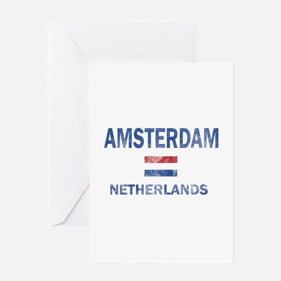 Amsterdam Netherlands Designs Greeting Card