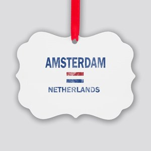 Amsterdam Netherlands Designs Picture Ornament