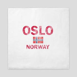 Oslo Norway Designs Queen Duvet