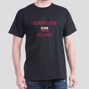 Warsaw Poland Designs Dark T-Shirt