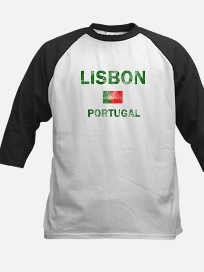 Lisbon Portugal Designs Kids Baseball Jersey