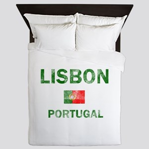 Lisbon Portugal Designs Queen Duvet