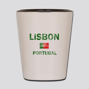 Lisbon Portugal Designs Shot Glass
