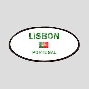 Lisbon Portugal Designs Patches