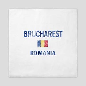 Brucharest Romania Designs Queen Duvet