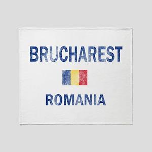 Brucharest Romania Designs Throw Blanket